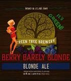 Green Tree Berry Barely Blonde beer