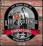 Lift Bridge Farm Girl Saison beer