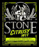 Stone Citrusy Wit Beer