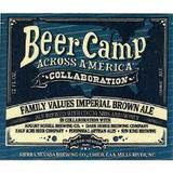Sierra Nevada + Dark Horse + August Schell + Perennial + Half Acre + Sun King Beer Camp Across America: Family Values beer