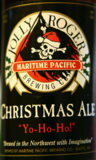 Maritime Pacific Jolly Roger Christmas Ale Beer