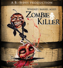 B. Nektar Whiskey Barrel Zombie Killer beer Label Full Size