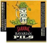 Saranac Bavarian Pils beer