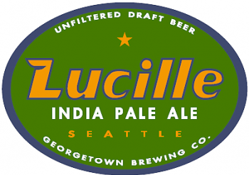 Georgetown Lucille IPA beer Label Full Size