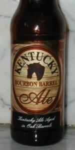 Alltech Bourbon Barrel Ale beer Label Full Size