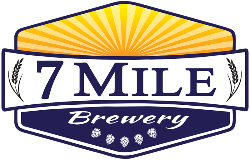 7 Mile Brewery - 7 Sea's beer Label Full Size
