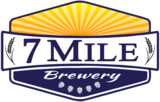 7 Mile Brewery -1st Ave Amber beer