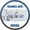 Catawba Brewing Co. Banks Ave Brown Saison w/ Raisins beer