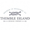Thimble Island Lager beer