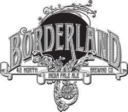 42 North Borderland IPA beer Label Full Size
