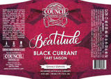 Council Beatitude: Black Currant Beer
