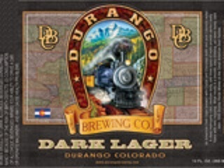 Durango Dark Lager beer Label Full Size