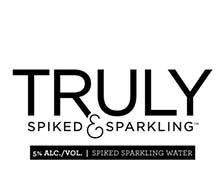 Truly Spiked and Sparkling Grapefruit & Pomelo beer Label Full Size