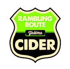 Rambling Route Pear Cider beer Label Full Size