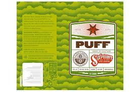Sixpoint Puff beer Label Full Size