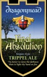 Dragonmead Final Absolution beer Label Full Size