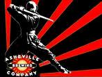 Asheville Pizza Ninja Porter beer