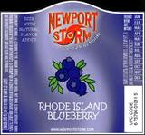 Newport Storm Rhode Island Blueberry Beer