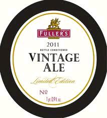 Fuller's Vintage Ale 2011 beer Label Full Size