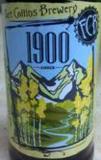 Fort Collins 1900 Amber beer