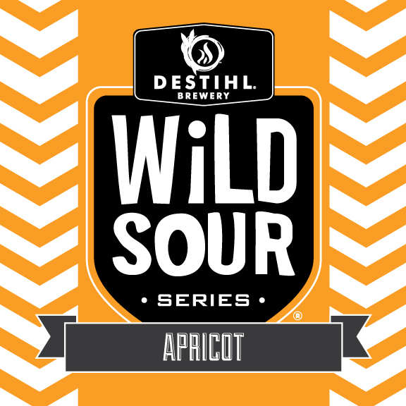 DESTIHL Wild Sour Series: Apricot beer Label Full Size