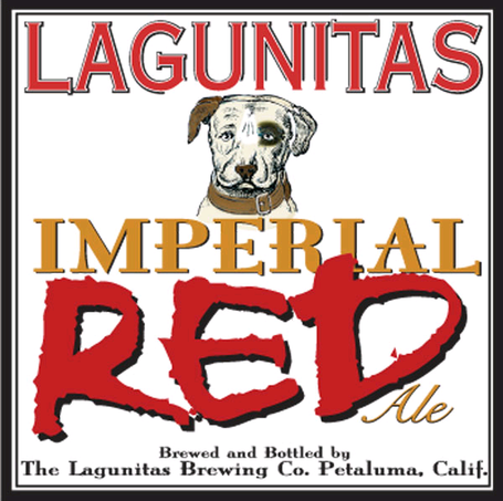 Lagunitas Imperial Red Ale beer Label Full Size