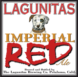 Lagunitas Imperial Red Ale beer