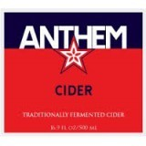 Wandering Aengus Anthem Cider beer Label Full Size