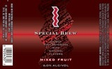 St. Ides Special Brew Mixed Fruit beer