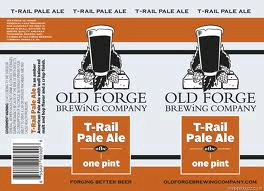 Old Forge T-Rail Pale Ale beer Label Full Size