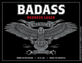 Michigan Badass American Lager Beer