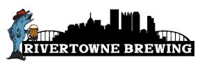 Rivertowne Peaches & Cream Nitro beer Label Full Size