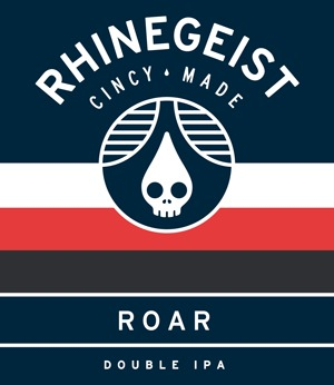 Rhinegeist Roar beer Label Full Size