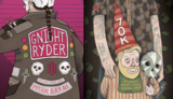 Against The Grain Gnight Ryder beer Label Full Size