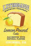 Listermann Lemon Pound Cake beer