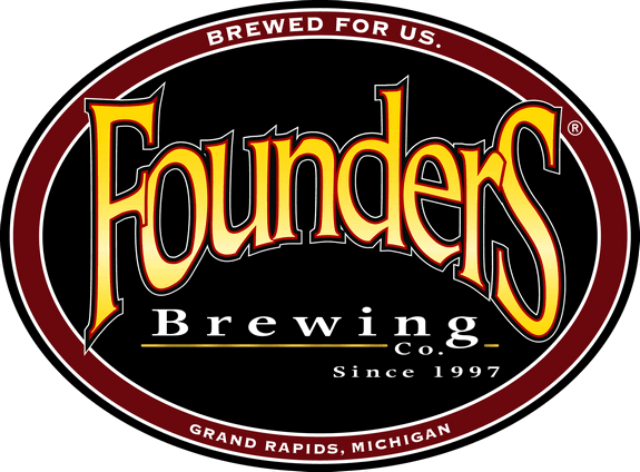 Founders Imperial IPA beer Label Full Size