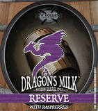 New Holland Dragons Milk with Lemon & Raspberries beer
