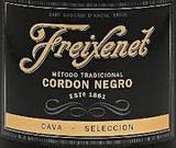 Freixenet Cordon Negro Brut wine
