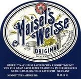 Maisel's Weisse Original beer