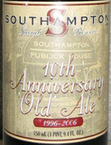 Southampton 10th Anniversary 2005 beer