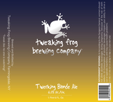 Tweaking Frog Twerking Blonde Ale beer