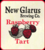 Mini new glarus raspberry tart