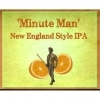 Three Notch'd Minute Man IPA beer Label Full Size
