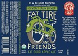 New Belgium and Friends Fat Sour Apple Ale Beer