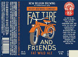 New Belgium and Friends Fat Wild Ale beer