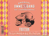 Ommegang Fruition beer