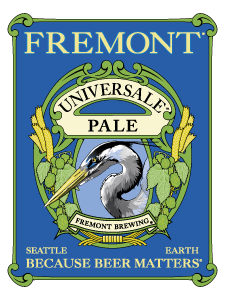 Fremont Universale Pale Ale beer Label Full Size