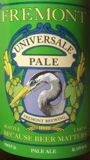 Fremont Universale Pale Ale Beer