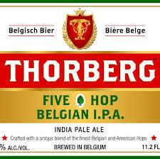Thorberg Five Hop Belgian IPA beer Label Full Size