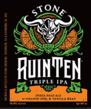 Stone RuinTen Triple IPA w/Orange Peel & Vanilla Bean Beer